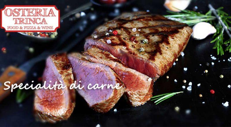 Occasione ristorante carne gustosa zona Marino