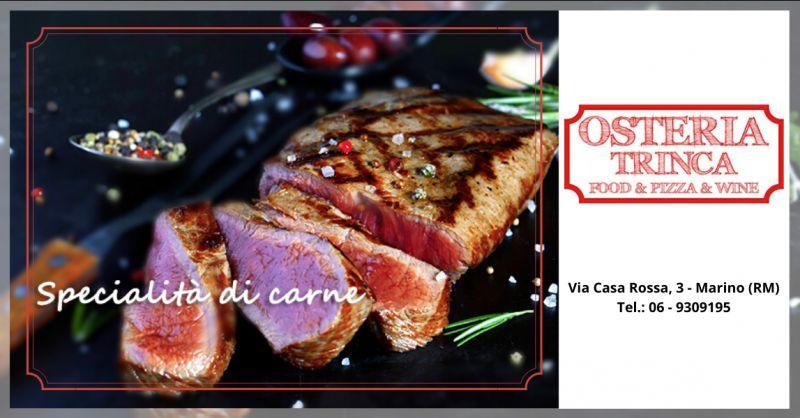 Trova dove mangiare carne a ciampino - offerta ristoranti dove mangiare carne a roma
