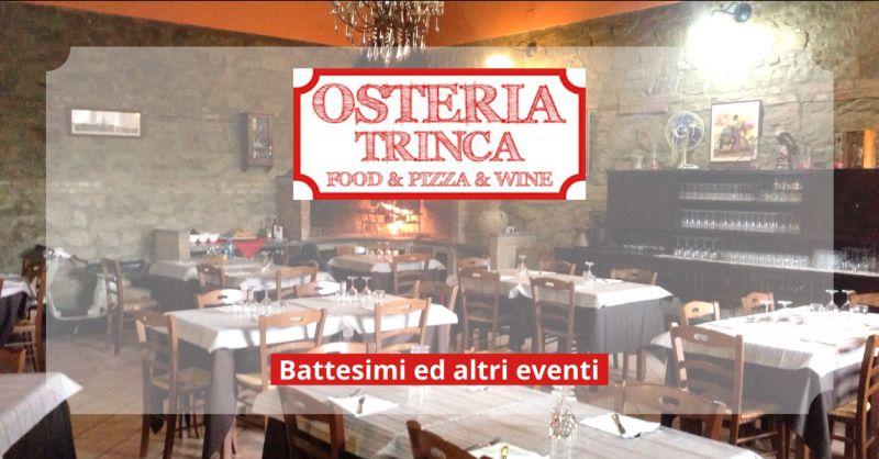 Offerta ristoranti per battesimi ariccia - occasione location battesimo castelli romani