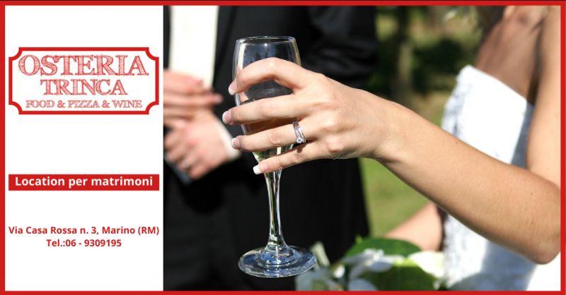 Offerta ristoranti per matrimonio albano laziale - trova dove festeggiare il matrimonio a roma