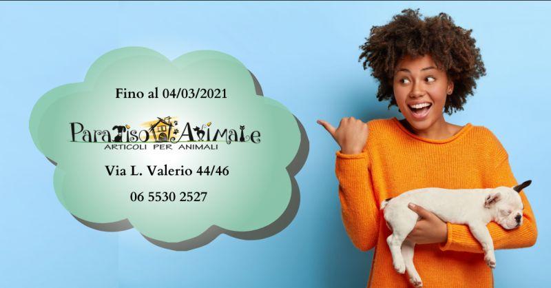 PARADISO ANIMALE - offerta articoli per animali domestici Roma Marconi