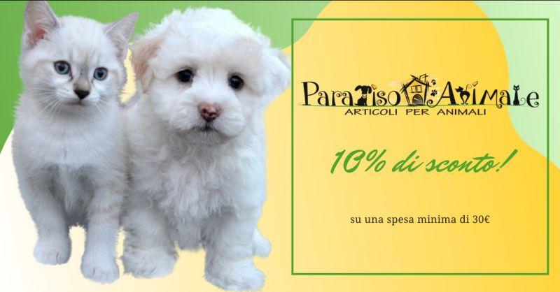 PARADISO ANIMALE - offerta negozio vendita cibo per cani e gatti Roma Marconi