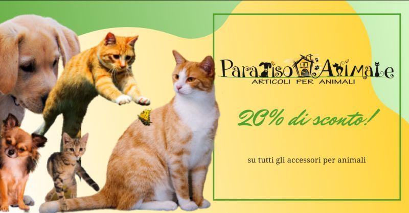 PARADISO ANIMALE - offerta negozio vendita articoli per animali Roma Marconi