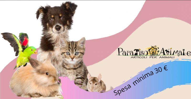 Offerta cibo per cani e gatti Roma Marconi - occasione mangimi per uccelli e roditori Roma