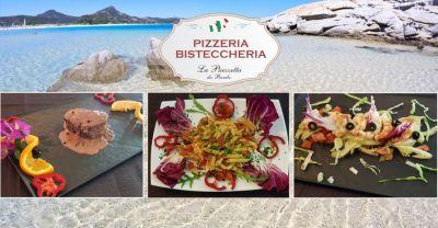 la piazzetta costa rei offerta ristorante pizzeria piatti cucina tipica sarda a base di pesce