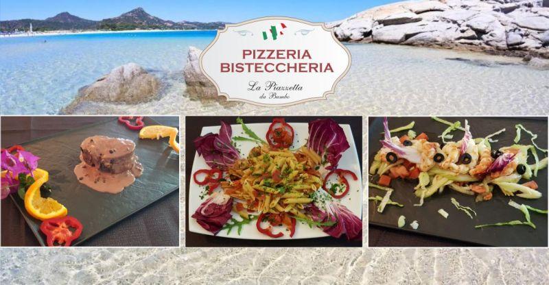 LA PIAZZETTA Costa Rei - offerta Ristorante Pizzeria piatti cucina tipica sarda a base di pesce