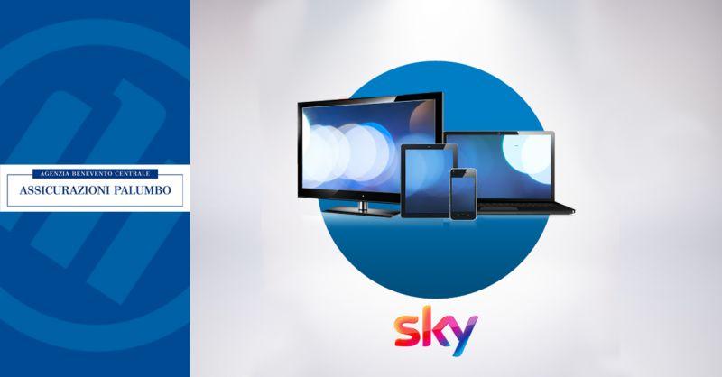 Offerta Sky Assicurazione Allianz Benevento - Occasione Vantaggi Allianz Abbonati Sky