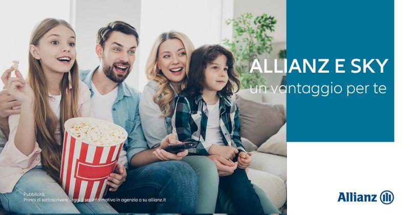 Offerta Convenzione Sky Extra Allianz Benevento - Occasione Agevolazione Clienti SKY Allianz