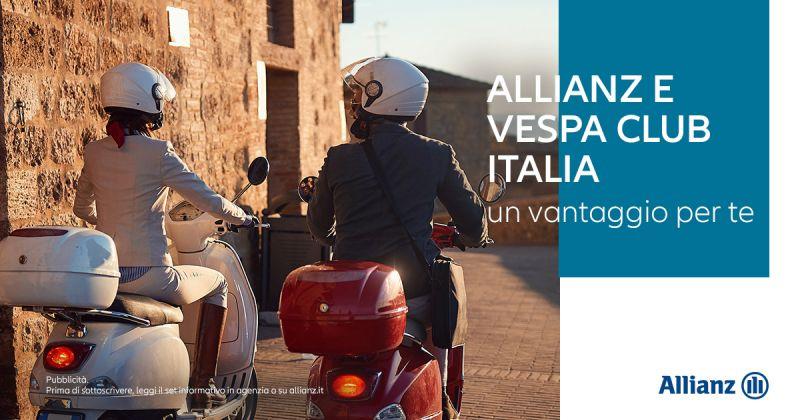 Offerta Convenzione Allianz Vespa Club Italia - Occasione Agevolazioni Vespa Club Italia Allianz
