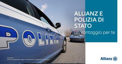 agenzia allianz benevento centrale offerta agevolazioni assicurazione auto polizia di stato