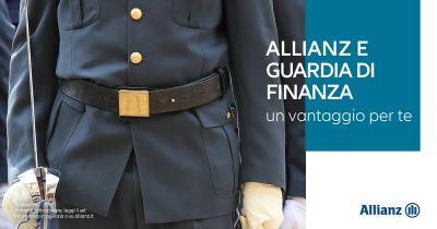 agenzia allian benevento centrale offerta agevolazioni assicurazione guardia di finanza