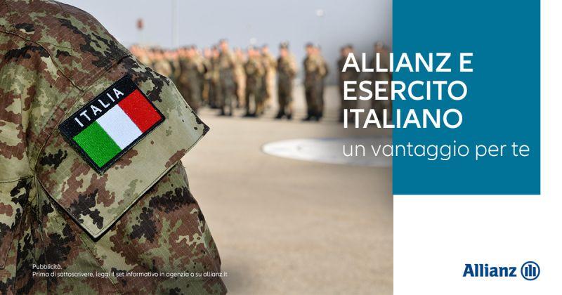 AGENZIA ALLIANZ BENEVENTO CENTRALE - Offerta agevolazioni Assicurazione Auto Esercito Italiano