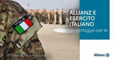 agenzia allianz benevento centrale offerta agevolazioni assicurazione auto esercito italiano