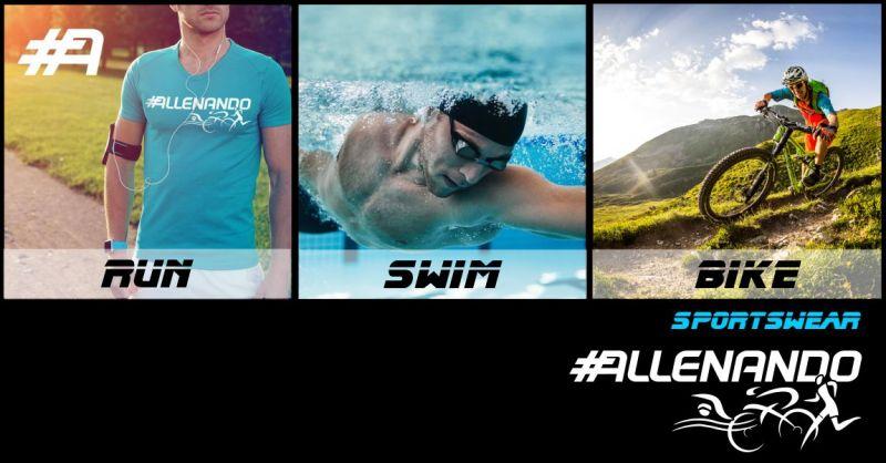 ALLENANDO - offerta abbigliamento tecnico sportivo e accessori brandizzato Triathlon