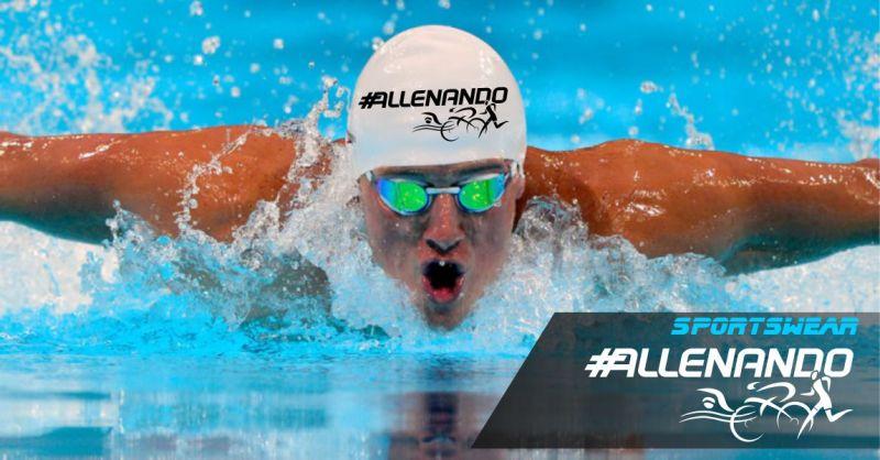 ALLENANDO - offerta cuffie nuoto silicone personalizzate triathlon