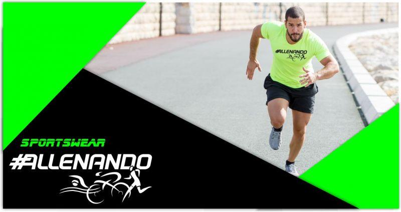 ALLENANDO - offerta maglia tecnica sportiva personalizzata manica corta