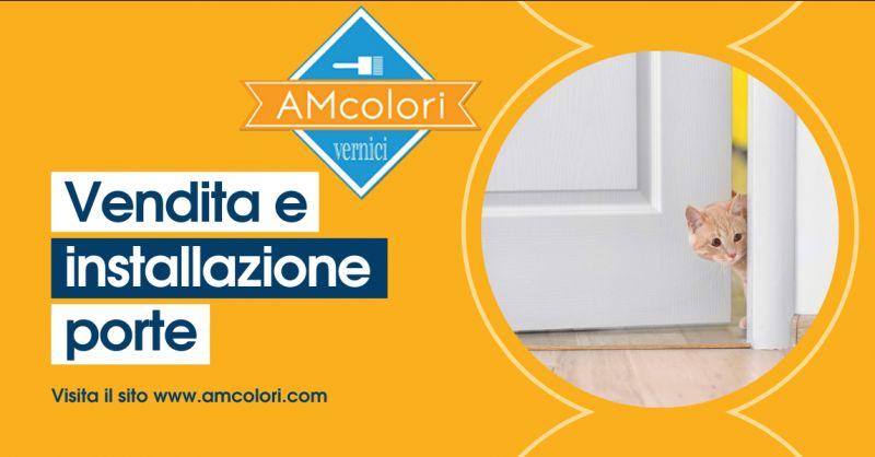AM COLORI - Offerta negozio vendita e installazione porte Ardea