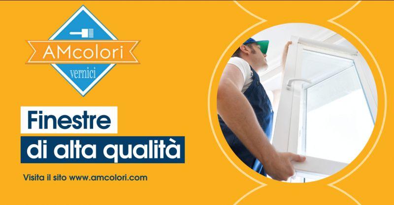 AM COLORI - Offerta servizio vendita e installazione finestre Latina