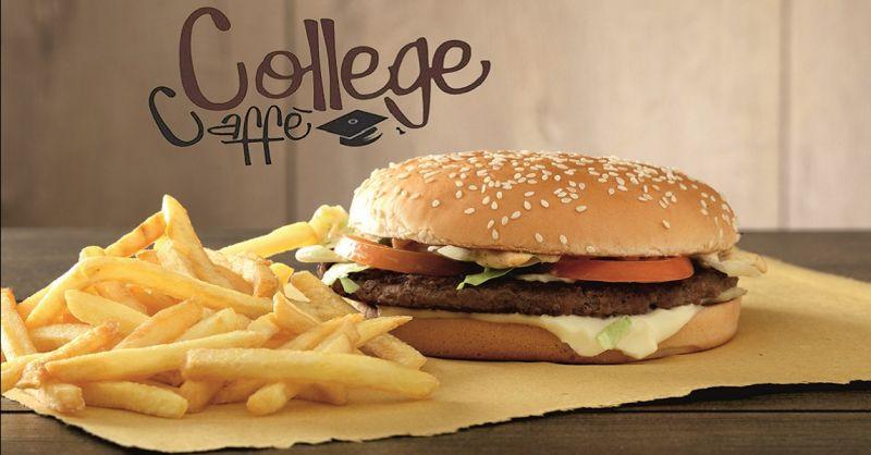promozione paninoteca e fast food Calenzano - COLLEGE CAFFE'