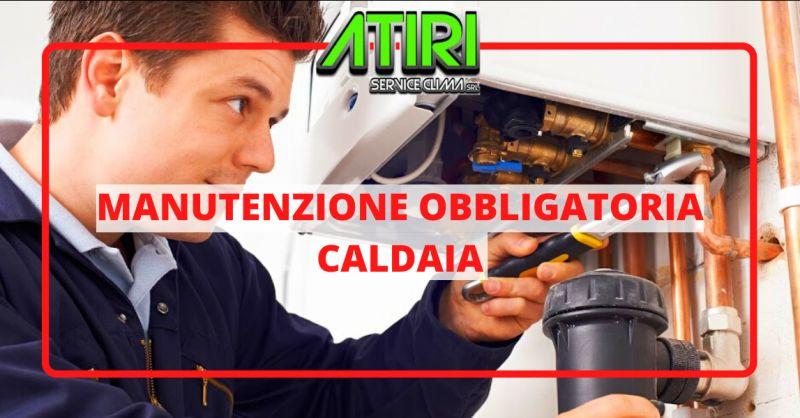 ATIRI Offerta manutenzione obbligatoria caldaia nettuno - bollino certificazione caldaia anzio