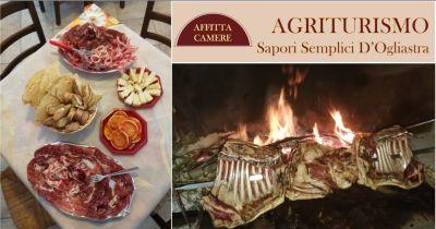 offerta agriturismo menu piatti tipici della tradizione ogliastrina