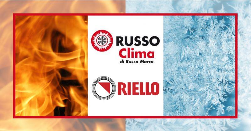RUSSO offerta punti vendita caldaie riello aprilia - rivenditori riello condizionatori Latina
