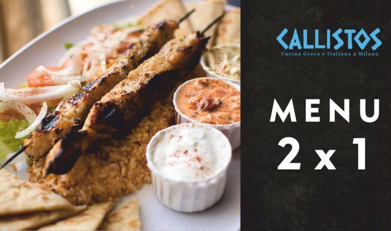 RISTORANTE CALLISTOS offerta cucina greca - promozione ristorante specialita tipiche greche