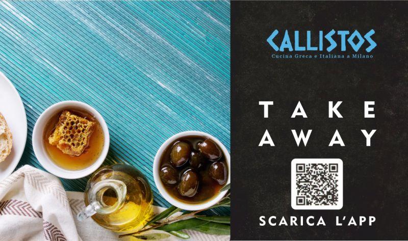 RISTORANTE CALLISTOS offerta cucina greca take away - promozione cibo greco d asporto