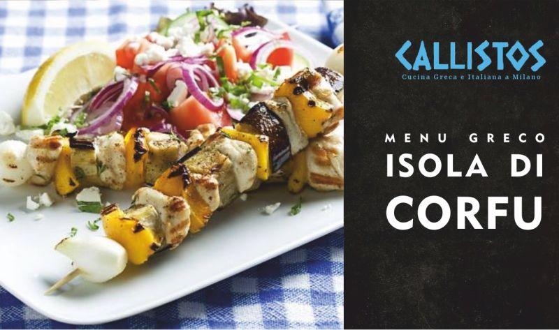 RISTORANTE CALLISTOS offerta menu di lavoro - promozione menu pranzo cucina greca