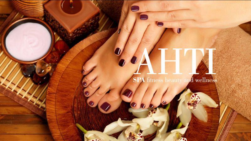 AHTI SPA offerta manicure pedicure - promozione smalto semiparlante mani e piedi