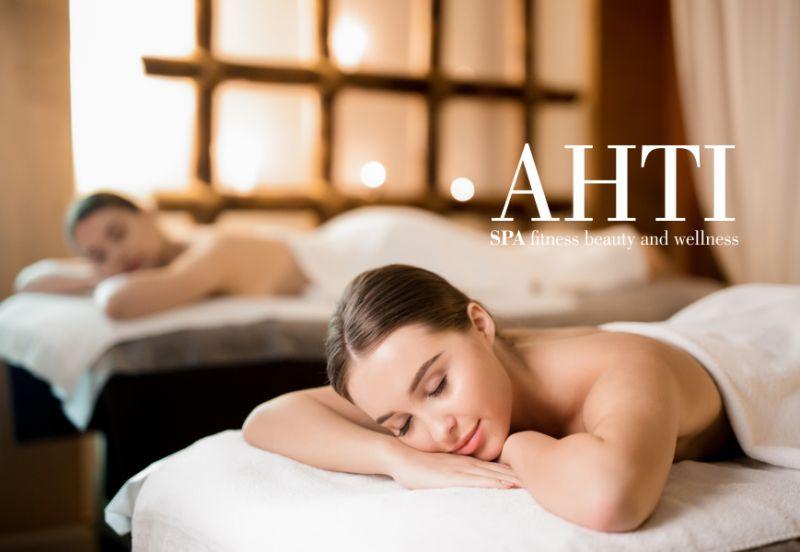 AHTI SPA offerta peeling corpo - promozione serata romantica percorso benessere