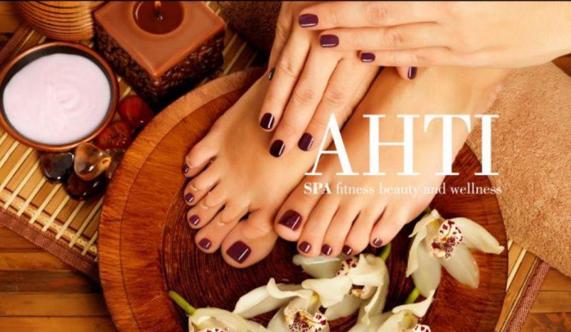 AHTI SPA offerta manicure e pedicure - promozione mani e piedi