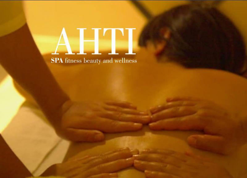 AHTI SPA offerta massaggio a quattro mani - promozione massaggio spa oasi relax
