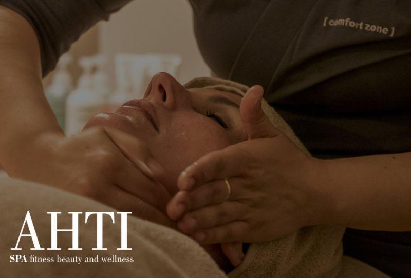 AHTI SPA offerta ossigenoterapia molecolare - promozione trattamento pulizia viso rigenerante