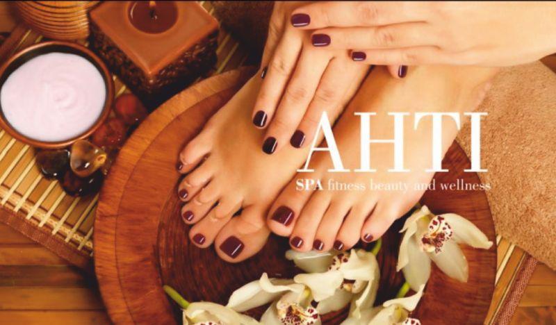 AHTI SPA offerta manicure pedicure professionale – promozione trattamento mani e piedi