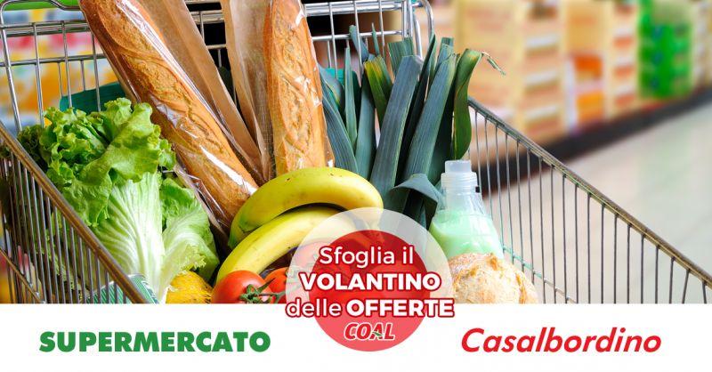 Offerta Volantino Supermercato Coal Casalbordino - Occasione Coal Alimentari Casalbordino