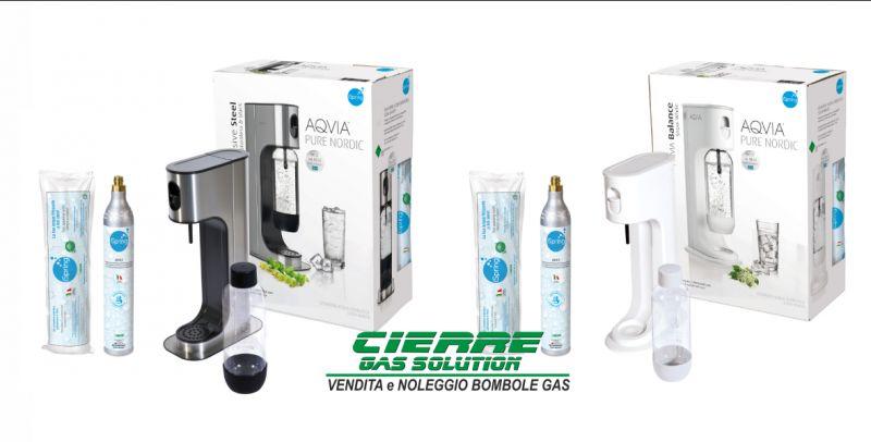 CIERRE GAS SOLUTION vendita bombola anidride carbonica gasatori domestici - cilindro Ispring