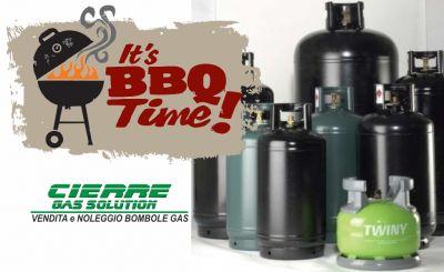 cierre gas solution vendita bombola gas propano in ferro ricarica bombola per barbecue