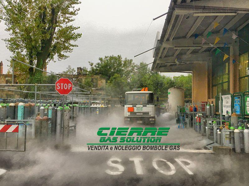 CIERRE GAS SOLUTION vendita bombole gas - promo noleggio bombole settore alimentare