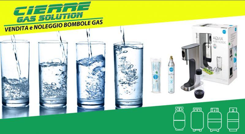 CIERRE GAS SOLUTION - offerta bombole per gasatori CO2 – promozione bombole per la gasatura acqua