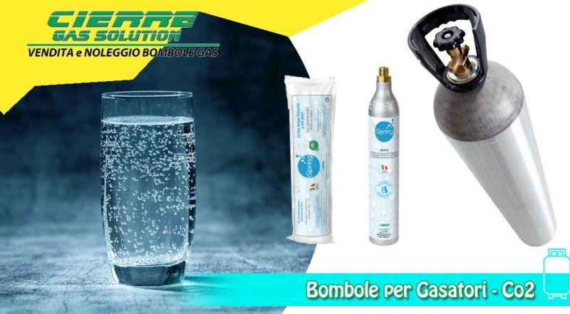 Offerta bombole per gasatura acqua varese - promozione bombole co2 per acqua frizzante varese