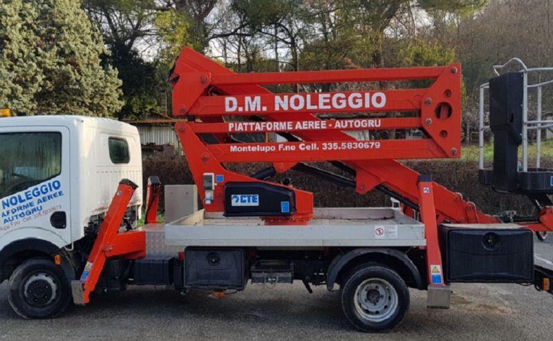servizio noleggio autogru con o senza operatore Firenze