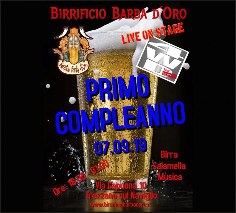 BIRRIFICIO BARBA D'ORO evento birrificio festa musica live 4wd rock experience party band