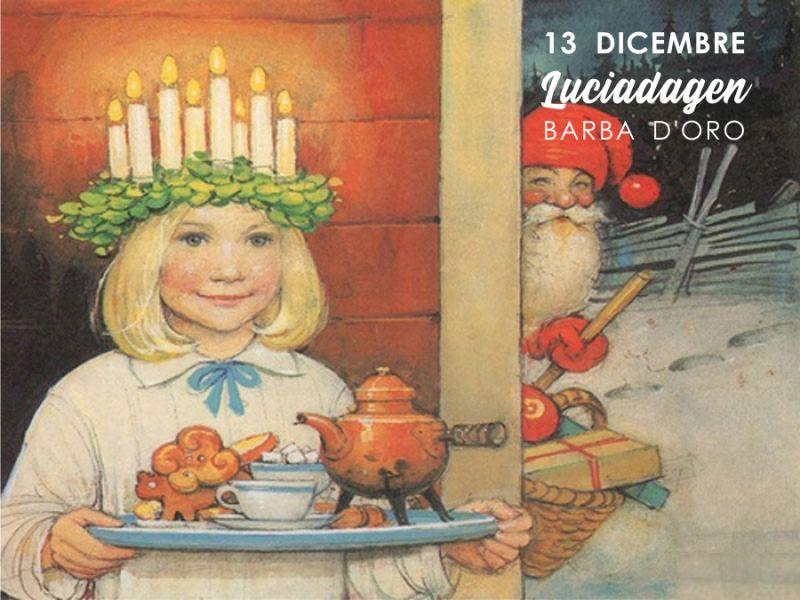 BIRRIFICIO BARBA D'ORO evento festa di santa lucia svedese 13 dicembre trezzano sul naviglio