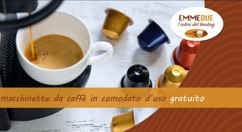 EMMEDUE - occasione macchine da caffè e bevande comodato d'uso gratuito Parma
