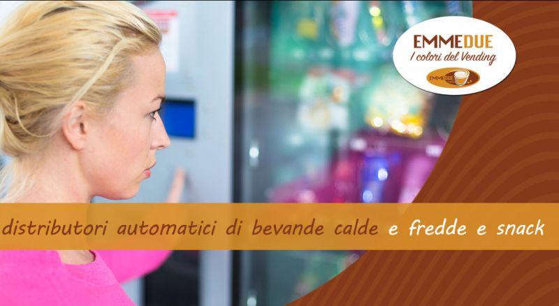 EMMEDUE - occasione noleggio distributori automatico bevande e snack Parma