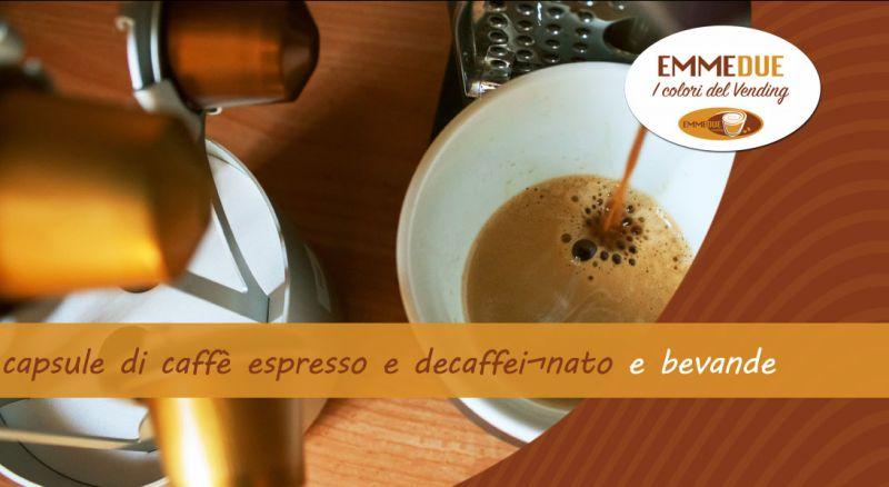 EMMEDUE - occasione capsule caffè espresso e decaffinato parma