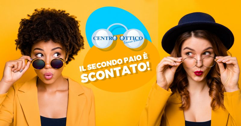 Offerta Sconto Secondo Paio Occhiali Alessandria - Promozione Lenti Antigraffio Antiriflesso Occhiali Savona