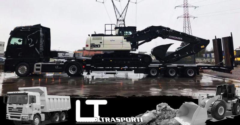 Offerta Servizio Trasporto Macchine Operatrici ed attrezzature speciali Como