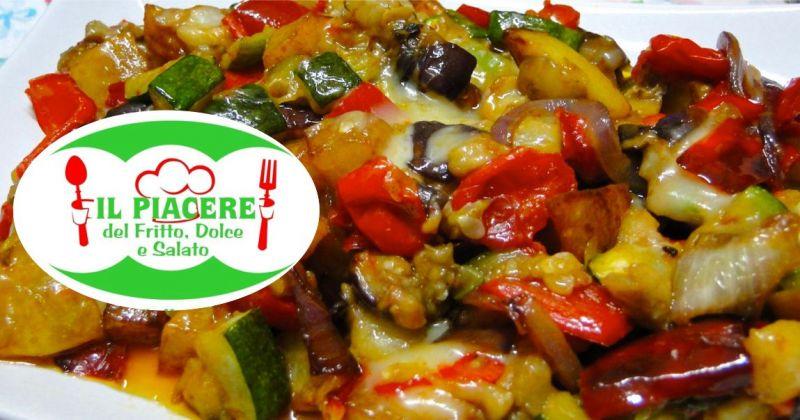 IL PIACERE DEL FRITTO DOLCE E SALATO  - offerta gastronomia specialita vegane da asporto